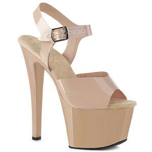 Shoes - Jelly Platform Stripper Heels Exotic Dancer Shoes